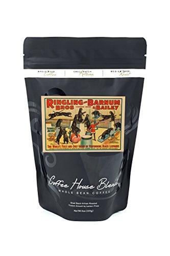 Ringling Bros and Barnum and Bailey - Terrell Jacobs Vintage Poster USA c. 1938 (8oz Whole Bean Small Batch Artisan Coffee - Bold & Strong Medium Dark Roast w/ Artwork) - 1938 Art