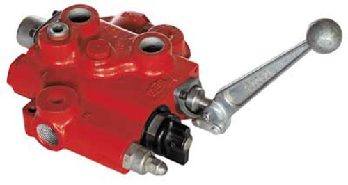 Orb Monoblock - CROSS Manufacturing 120832 SBC-ORB Series Cast Iron Single Spool Monoblock Flow Control Valve, 1-1/16