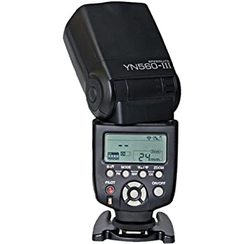 Yongnuo Professional Flash Speedlight Flashlight Yongnuo YN 560 III for Canon Nikon Pentax Olympus Camera / Such as: Canon EOS 1Ds Mark, EOS1D Mark, EOS 5D Mark, EOS 7D, EOS 60D, EOS 600D, EOS 550D, EOS 500D, EOS 1100D (Discontinued by Manufacturer)