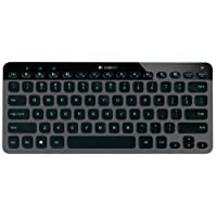 Logitech K810 Wireless Bluetooth Illuminated Multi-Device Keyboard for PC, Tablets and Smartphones, Black