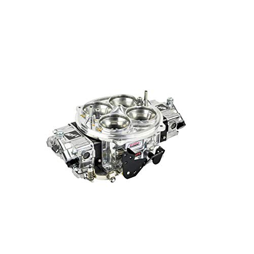Quick Fuel Technology FX-1150BLK Pro Street QFX Series Carburetor 1150 cfm. Dominator Polished Finish w/Black Billet Metering Blocks Pro Street QFX Series ()