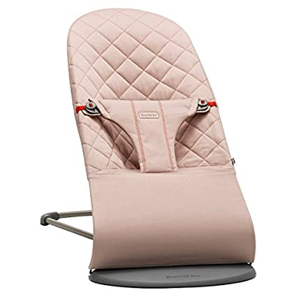 BabyBjörn Bouncer Bliss Hamaca color rosa palo