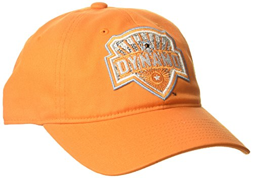 adidas MLS Houston Dynamo Women's Adjustable Slouch Hat, One Size, Orange (Retro Slouch Adjustable Hat)