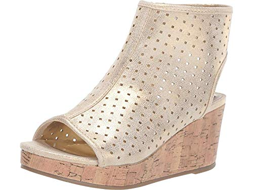 - Kenneth Cole REACTION Kids Girl's Corrine Steller (Little Kid/Big Kid) Taupe Shimmer 6 M US Big Kid