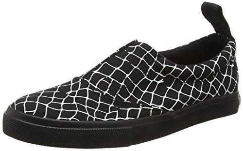 Black Unisex Low zapatillas negras viaje Adultos 200 Monday bajas 6fwf10
