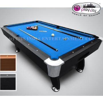 Buy Play In The City Pool Table Ft X Ft Blue American Billiard - Pool table price amazon