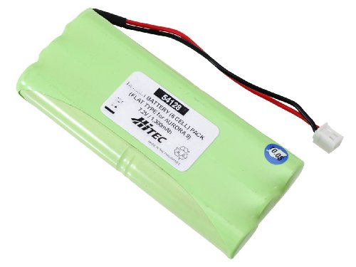 Hitec RCD 54128 7.2V 1300mAh Flat Type for Aurora 9 (Hi Tec Connector)