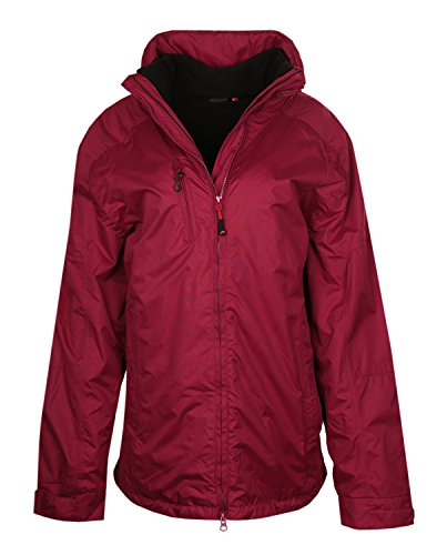 Maier Sports Damen Outdoorjacke Plum 2in1 Funktionsjacke mit Kapuze 51220374-467