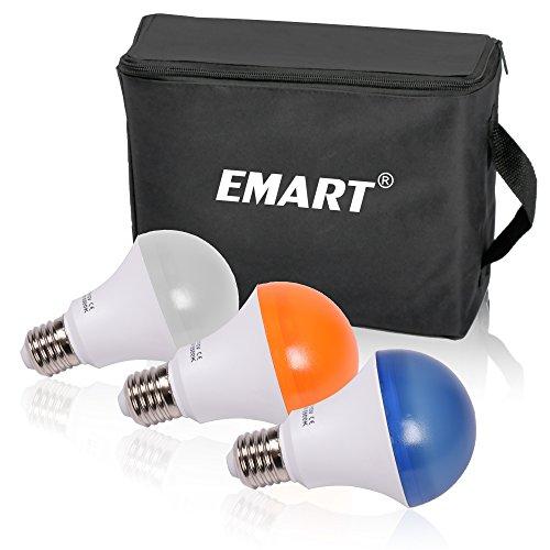 Emart Studio LED Photography Umbrella Lighting Kit, 500W 5500K LED Photo Lights for Camera Lighting, Continuous Lighting, Portrait Video Shooting – Umbrella Reflector Light by EMART (Image #5)