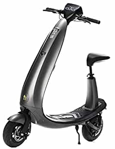 OjO Commuter Scooter for Adults - Eco-friendly, Electric & Smart - Graphite