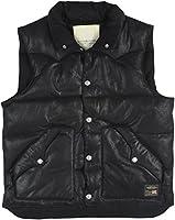 Denim & Supply Ralph Lauren Men's Faux-Leather Down Vest