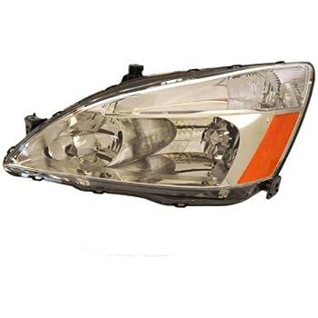 2003-2004-2005-2006-2007 Honda Accord 4-Door Sedan or 2-Door Coupe Headlight Headlamp Front Halogen Composite Head Lamp Light Left Driver Side (03 04 05 06 07)