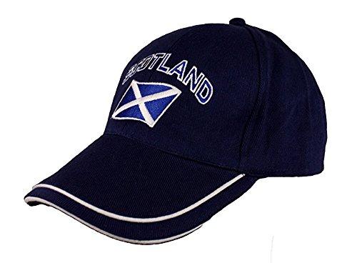 - Scotland Curved Flag Baseball Cap