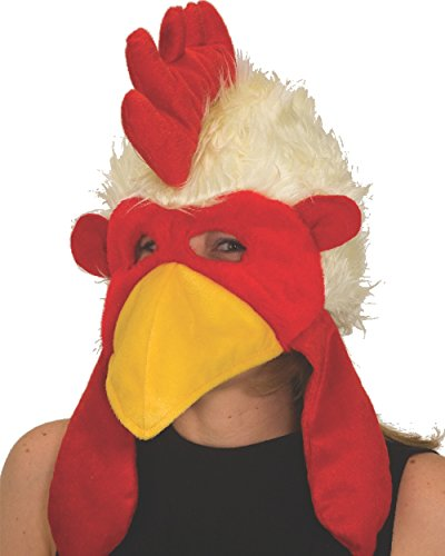Chicken Head Costume (Jacobson Hat Company Adult Velvet Chicken Hat)