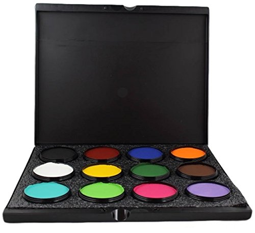 [Mehron Makeup- Paradise Makeup AQ ProPalette - 12 Colors] (Lucille Ball Costumes For Halloween)