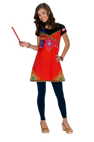 Alex Wizards Of Waverly Place Costumes (Alex Boho Child Costume - Kids Wizards of Waverly Place Costume)