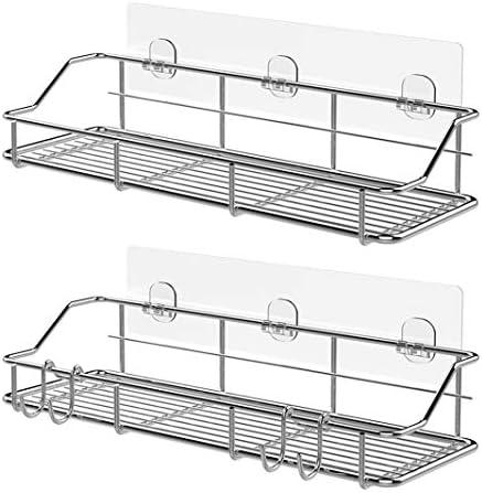 KESOL Adhesive Shower Basket Stainless product image