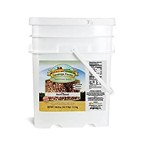 Saratoga Farms Dried Pinto Beans ValueBUCKET (419 Total Servings, up to 30 Year Shelf-Life)
