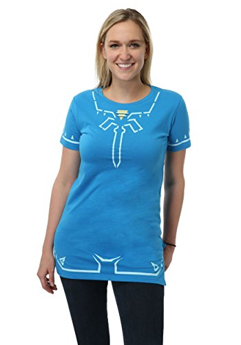 Zelda Costumes For Sale (Bioworld Merchandising / Independent Sales Legend of Zelda Breath of The Wild Juniors Costume Dress Small)