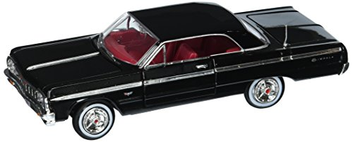 Motor Max 1: 24 W/B American Classics 1964 Chevrolet Impala Hardtop MJ Exclusive Die-Cast Vehicle, Black ()