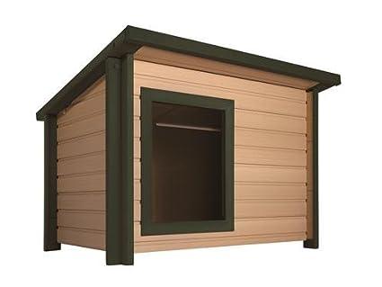 Estilo rústico y Lodge Eco Caseta., mejor que de plástico, de madera de