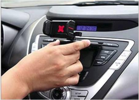 Exogear Exomount Touch CD Car mount for ALL iPhones and ALL Samsung Galaxy Phones (including iPhone 7, iPhone 7 Plus, 6S, 6S Plus, All Samsung Note Phones and all Samsung Edge including Samsung Galaxy S8 and S8+ Phones. Includes all other smartphones and cell phones from 3.5 to 6.2 inch screens