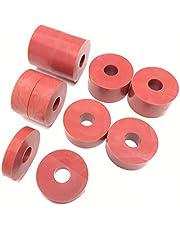 Nylon afstandhouders Standoff Wasmachines Rood 8MM (10 Pack) 4 x 15mm, 4 x 10mm, 2 x5mm