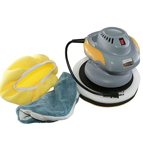 Eckler's Premier Quality Products 50-288859 Random Orbital Polisher (10'') With Bonus Bonnets | AutoSpa 94001AS