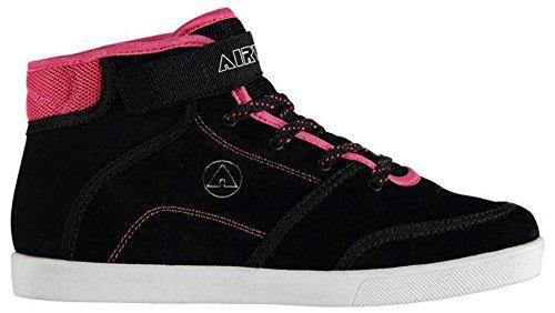 Airwalk , Damen Sneaker Schwarz / Pink