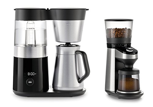 OXO On Barista Brain 9 Cup Coffee Maker and Conical Burr Coffee Grinder Bundle