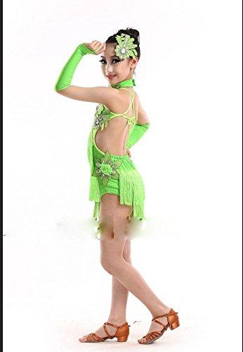 Qxj Di Latino Bambini Ballo Per Costumi Concorso Yyb6gv7f