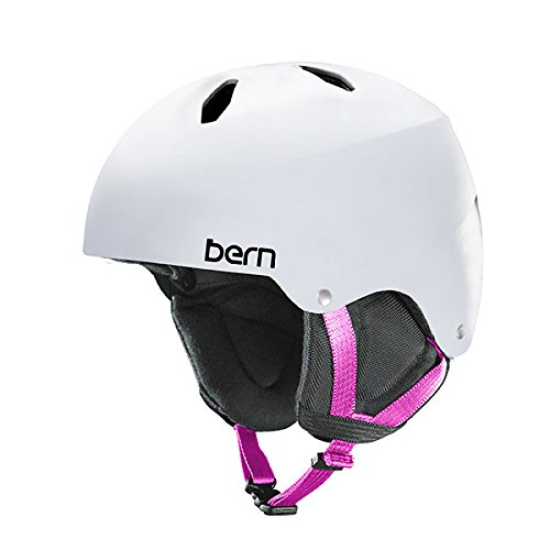 Bern Girls Diabla Helmet (Satin White | Small / Medium)