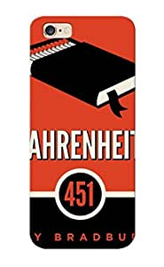 Iphone 6 Plus Cover Case Design - Eco-friendly Packaging(fahrenheit 451)