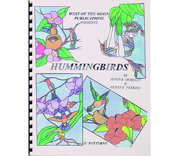 Hummingbirds - Stained Glass Pattern Book