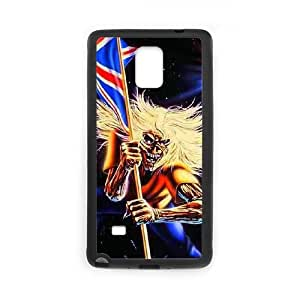 Samsung Galaxy Note 4 Cell Phone Case Black Iron Maiden 003 Exquisite designs Phone Case KM5H55HJ