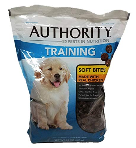 Image of Authority Training Soft Bites Dog Treats, 24 Ounces (Chicken)
