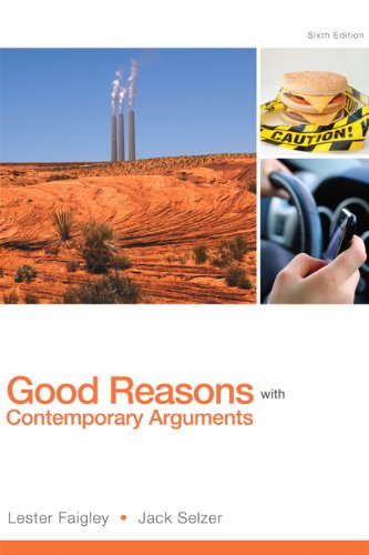 Good Reasons W/Contemporary Arguments