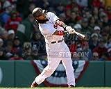 Manny Ramirez Boston Red Sox at bat helmet doo rag 8x10 11x14 16x20 photo 374 - Size 8x10