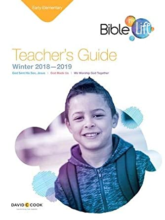 Amazoncom Bible In Life Early Elementary Teachers Guide Sunday