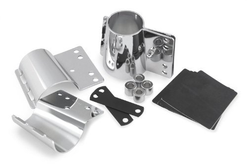 - National Cycle Supplemental Hardware - CJ and CH Series Mount Kit for Standard Forks For Kawasaki EN500C 1996-2006 / VN800A 1995-2005 / VN900C 2007-2010 / Yamaha XVS1100 1999-2009 / XVS650 1998-2020 - KIT-CJE
