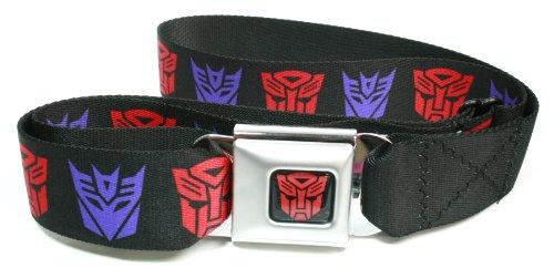 Transformers Autobots Belt Buckle (Transformers Autobots & Decepticon Logo Seatbelt)