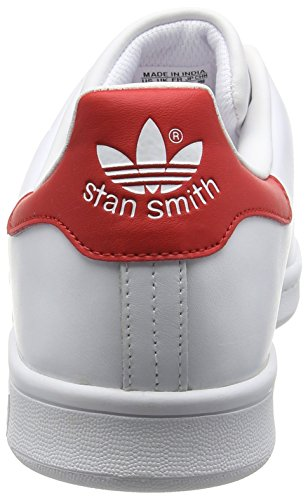 Blanco Red running running Stan Adidas White Adulto Originals collegiate Ftw De Deporte Ftw Unisex Smith Zapatillas zggaZRxn8