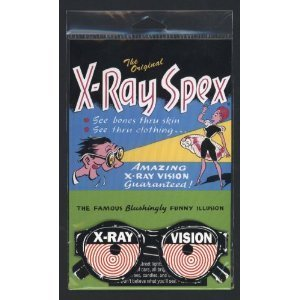 X-ray Vision Toy Glasses