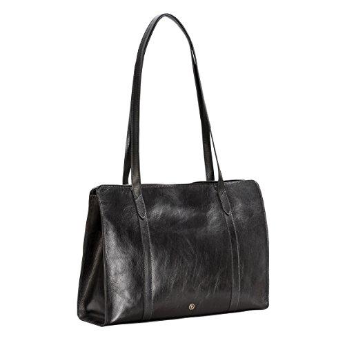 A Taglia Black Bags Braun Verde Size One Spalla Unica Maxwell Cognac Borsa nero Scott Marrone Donna Night CqwatO