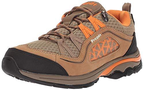 Propet Women's Piccolo Hiking Boot Gunsmoke/Orange 9H 2E 2E US