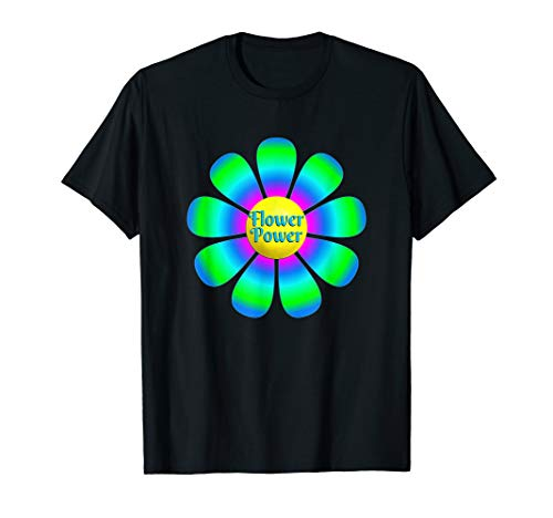 Big Flower Power T-Shirt -