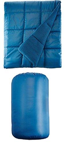(Waterproof Quilted Down Alternative Outdoor Throw Blanket 50