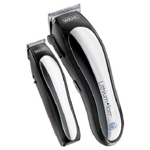 Wahl Lithium Pro Cordless Haircut & Touch Up Kit With Case (23 Pieces) Model# 79600-3301 by WAHL