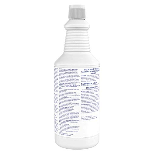 Diversey 100925283 Crew Neutral Non-Acid Bowl and Bathroom Disinfectant, 32 oz. Squeeze Bottle (12 Pack)