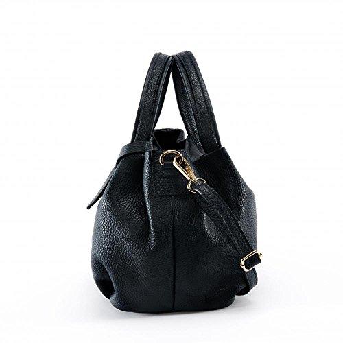 Sac cuir MY Bubble femme Main Noir BAG OH à Modèle dwYqET77